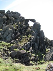 The Mistress Stone - this was one of two locations where St. Kildan men would prove their bravery to express their love for someone
