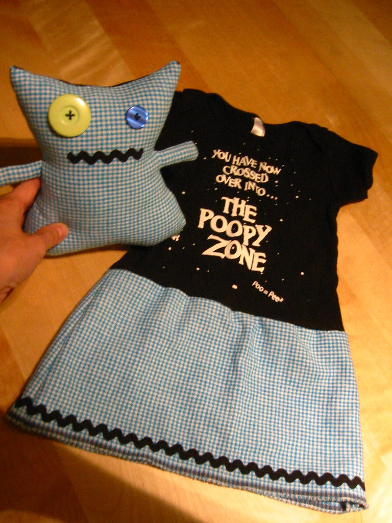 Doll & T-shirt Dress