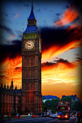 Revien ,, Tu Me Manque .. (A.A.A) Tags: sunset sky bus london by canon photography big missing ben mark iii u miss sh hdr aaa amna alot irresistible eos1ds do7a londre althani a canoneos1dsmarkiii amnaaalthani hawaalrayyanfav dedicatedtosomeone3 misssng