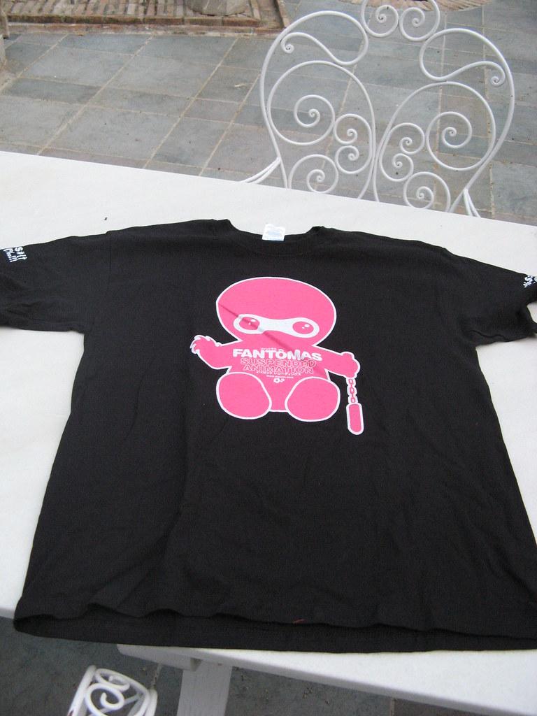 For sale Fantômas T-Shirt NEW!!