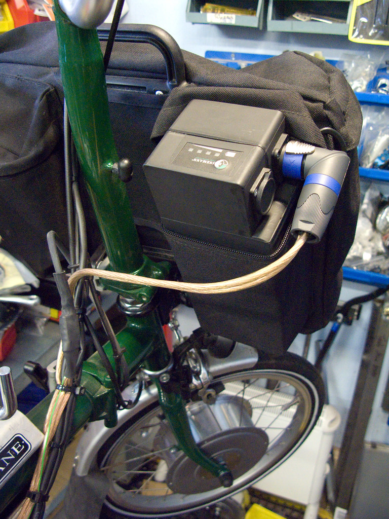 Electric Brompton - lithium battery
