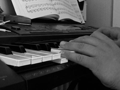 messy piano