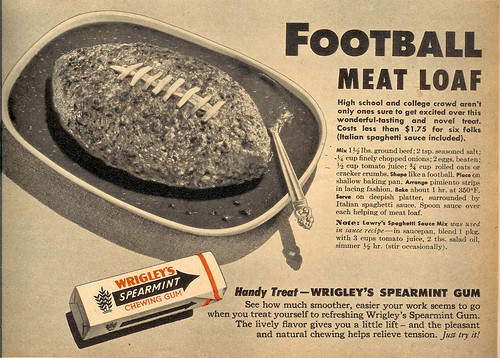 Football Meat Loaf - 1955 (by senses working overtime)