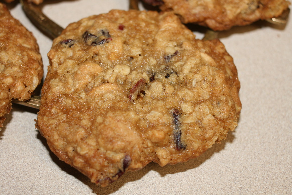 Oatmeal Cranberry Cashew Cookie