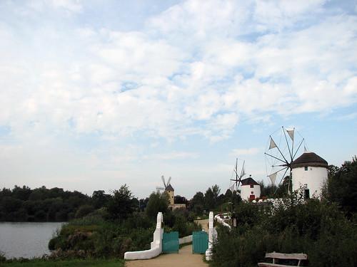 Windmühlen aus Spanien, Portugal und Griechenland