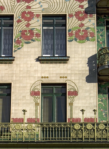 Majolica House, Otto Wagner, Vienna | Art Nouveau ...