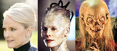 Which is scarier? Cindy McCain, the Borg Queen or the Crypt Keeper?