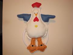 porta pano prato (dinorahramos) Tags: galinha portapanoprato