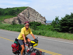 Mary on the Cabot Trail, Nova Scotia, Canada