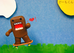 Domo-Kun Loves You - Skateboard (Amarand Agasi) Tags: sky cloud sun love grass fantastic skateboarding you air super perfectday sean rawr skate catching domo skateboard catch loves domokun rar utatafeature canonpowershotsd870is amarand theamarand poorlycrafted