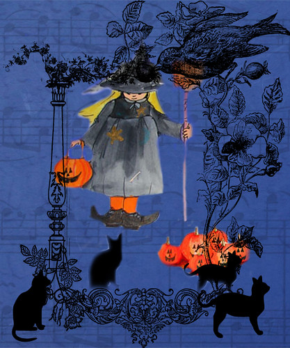 little-witch-with-sheet-music-and-cats
