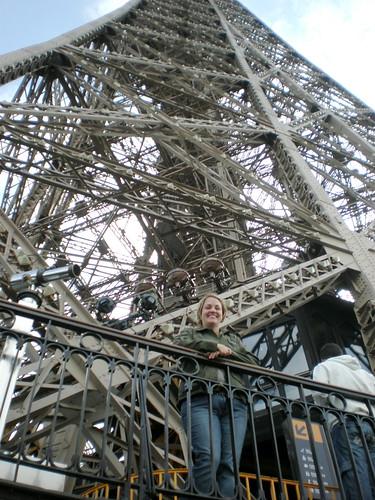 Finn at the Eiffel Tower