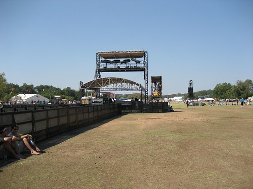 View from the ATT Stage