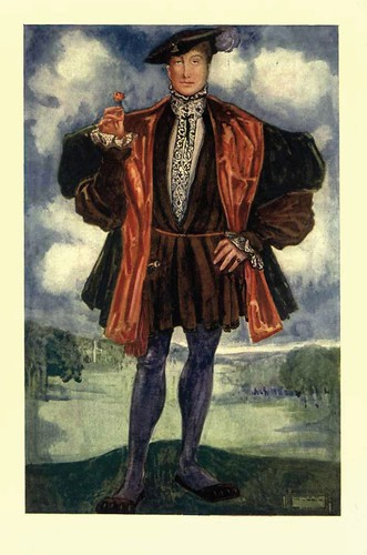 12- Vestimenta hombre epoca de Enrique VIII (1509-1547)