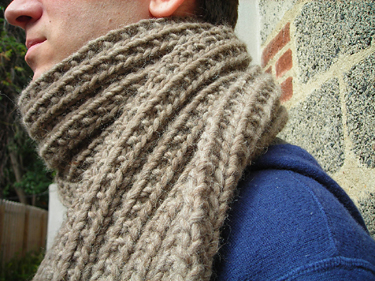 Montana Scarf Close Up