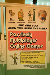 Passively Multiplayer Online Games