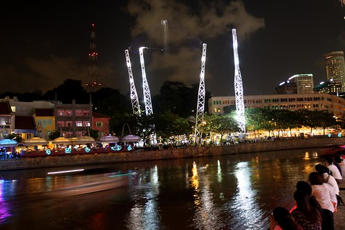 Singapore Clarke Quay Bungee machine by noelmdm.