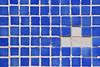 sex pistols:something else (visualpanic) Tags: blue azul square shower pattern mosaic minimal bleu ducha catalunya blau 2008 lescala setembre montgó cuadrados dutxa quadrats rajoles imperfeccions