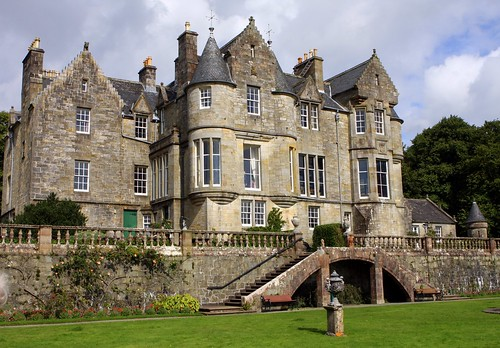 Torosay Castle Feature Page on Undiscovered Scotland
