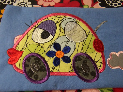 Vw bug applique