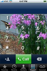 Butterfly keypad