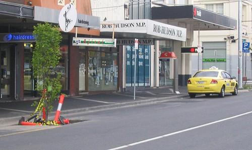 Bentleigh taxi rank 19/10/2008