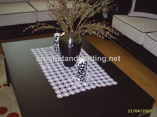CROCHET TABLE RUNNER FREE PATTERN ? Crochet For Beginners
