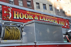 Hook & Ladder 110 Tillary Tigers (Triborough) Tags: nyc newyorkcity ny newyork brooklyn firetruck fireengine ladder fdny seagrave downtownbrooklyn kingscounty newyorkcityfiredepartment ladder110 tillarytigers