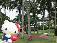 Hello Kitty at Landscaped Garden of Saujana Hotel, Kuala Lumpur, Malaysia