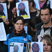 Vigil for Troy Davis, Brussels, Belgium