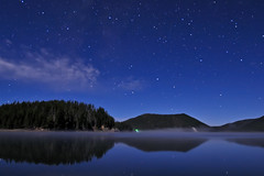 Central Oregon is Stellar! (Fort Photo) Tags: longexposure vacation sky lake reflection monument night oregon centraloregon stars landscape outdoors star volcano evening nikon bravo nightscape searchthebest northwest bend or central national caldera astrophotography pacificnorthwest astronomy volcanic pnw soe afterdark eastlake onblue d300 newberry newberrynationalvolcanicmonument anawesomeshot multimegashot vosplusbellesphotos 2008reunionnature
