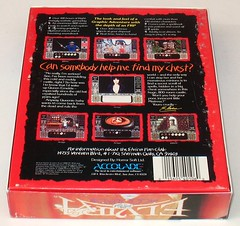 Elvira, Mistress of the Dark game box back