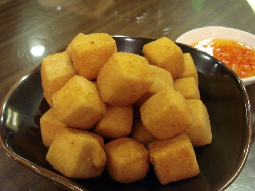 Salt n pepper tofu@Crystal Jade T2