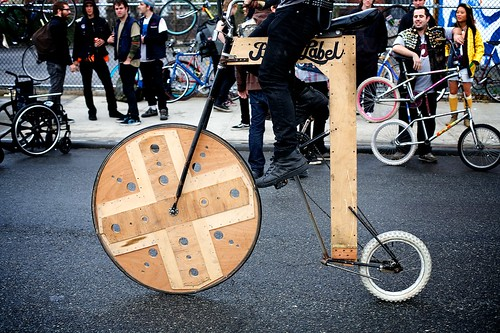 Black Label's Wooden Bicycle
