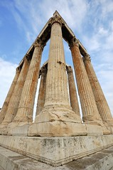 Temple of Olympian Zeus, Athens, Greece - davetonkin