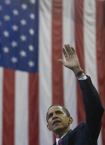 2008年歐巴馬競選總統