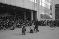 assemblea in bovisa (To/\/\/\/\i) Tags: 350d riot milano 133 politecnico assemblea studenti manifestazione bovisa riforma gelmini