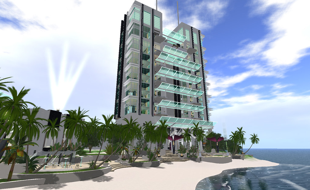 Casablanca Boulevard:  Casablanca Hotel - the residential suites tower