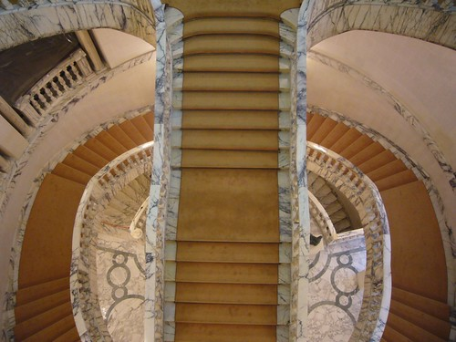 stairs in the Romanian National Art Museum