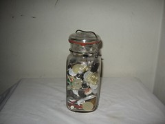 Ball Glass lid canning jar