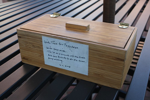 """""""Wish Tree for Pasadena"""" by Yoko Ono at One Colorado Courtyard, 11-06-08 - 11 by you."""