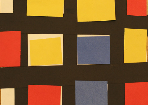 Joey's primary colored rectangles and squares