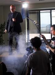 backstage delle riprese