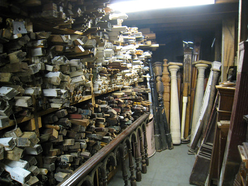 Old House Parts: Banisters and Spindles