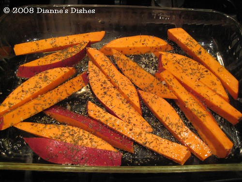 Sweet Potato Wedges: Ready to Bake