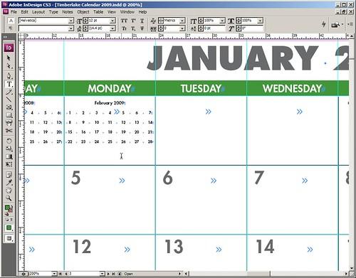 Working the 2009 calendar
