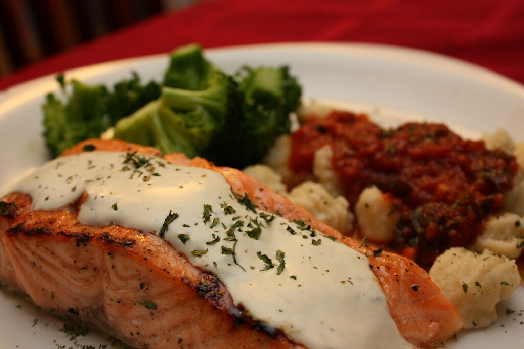 Glazed Salmon with Dijon Mustard Sauce