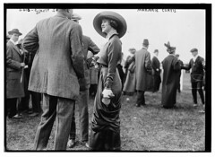 Marjorie Curtis  (LOC) (The Library of Congress) Tags: fashion racetrack libraryofcongress horseshow society curtis socialites belmontpark xmlns:dc=httppurlorgdcelements11 dc:identifier=httphdllocgovlocpnpggbain12365 marjoriecurtis