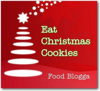 Eat chistmas cookies logo