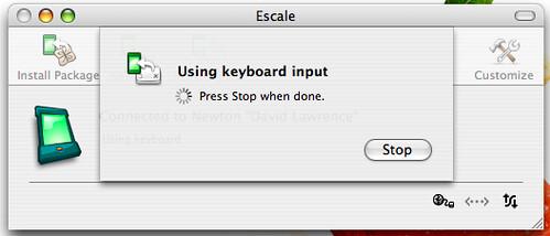Escale - fun, but slow